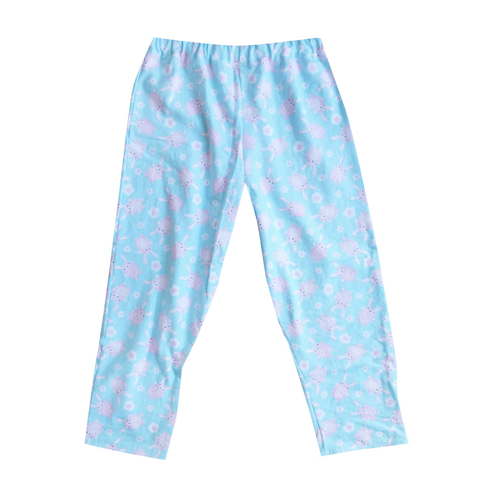 Small bunnie & flower pants