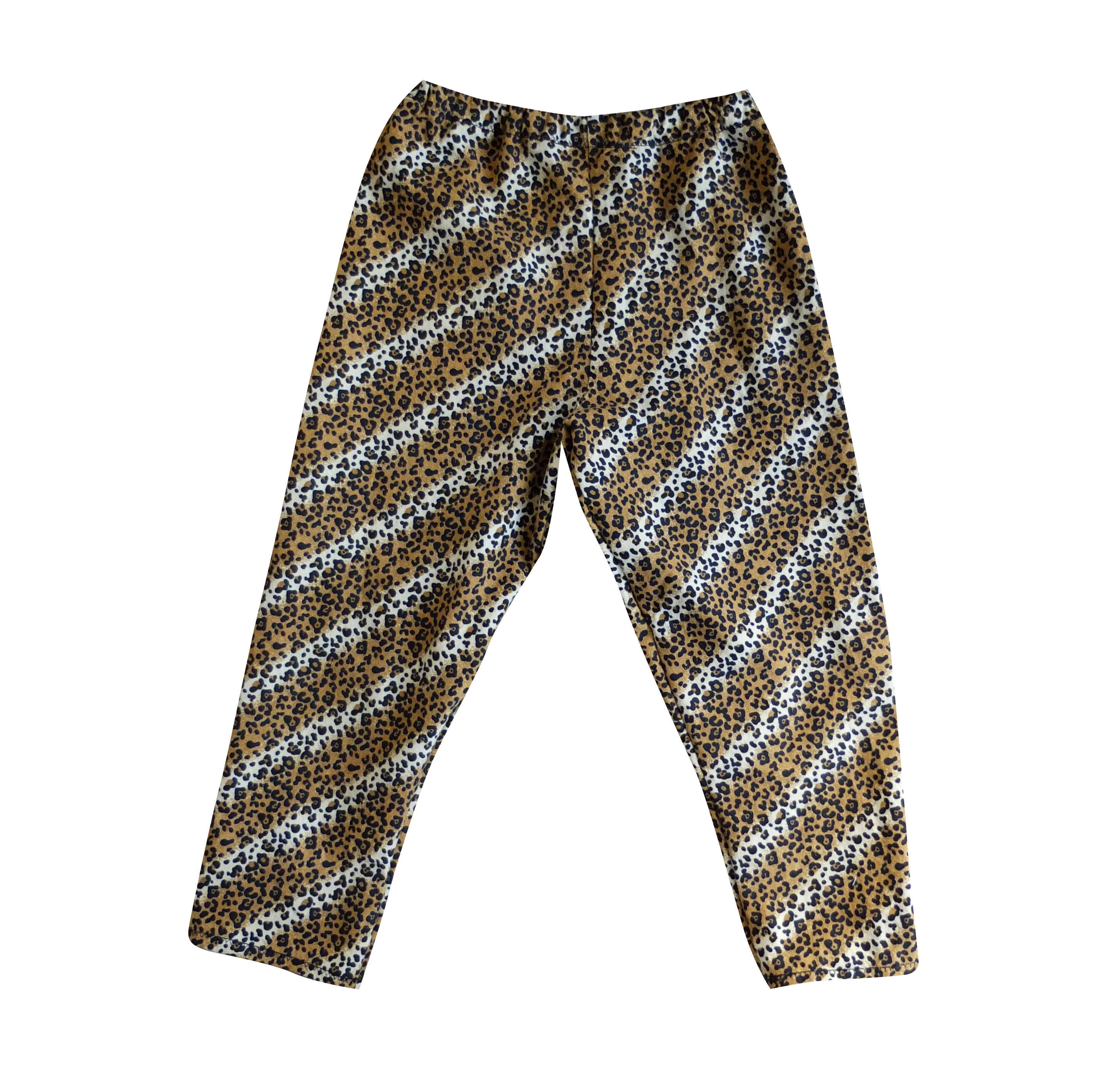 Small leopard pants