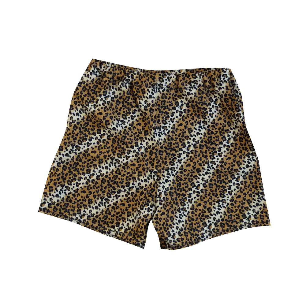 Small leopard shorts